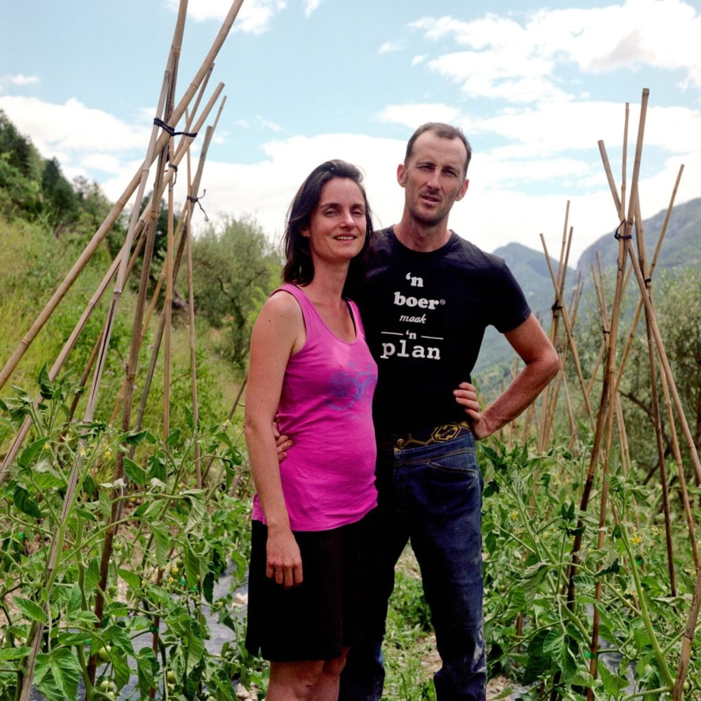 Renaud and Agnes Pappone