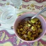 organic zucchini garlic and provencal herbs