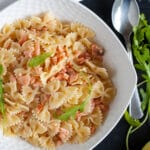 farfalle with smoked salmon
