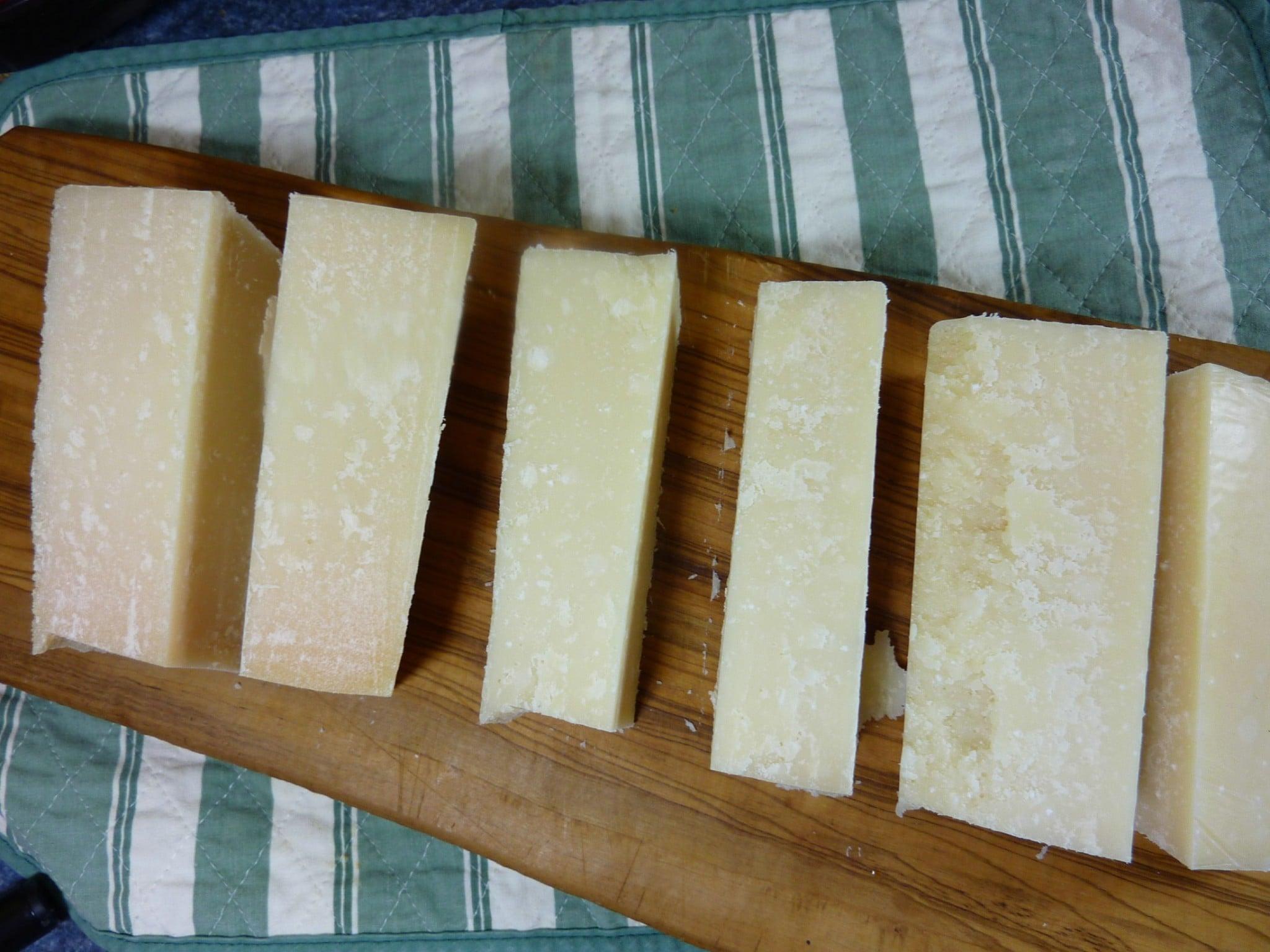 Basic Freezing for winter parmesan