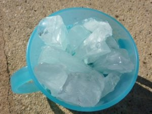 Ice cubes for freezer