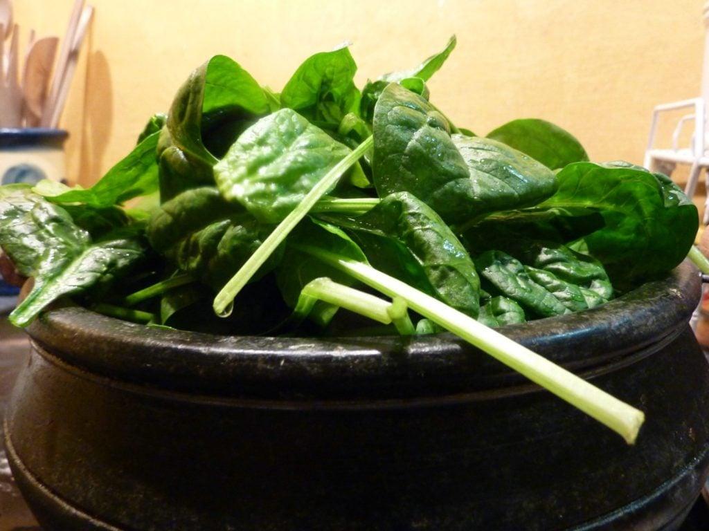 Jerusalem artichokes spinach soup 4_2_1