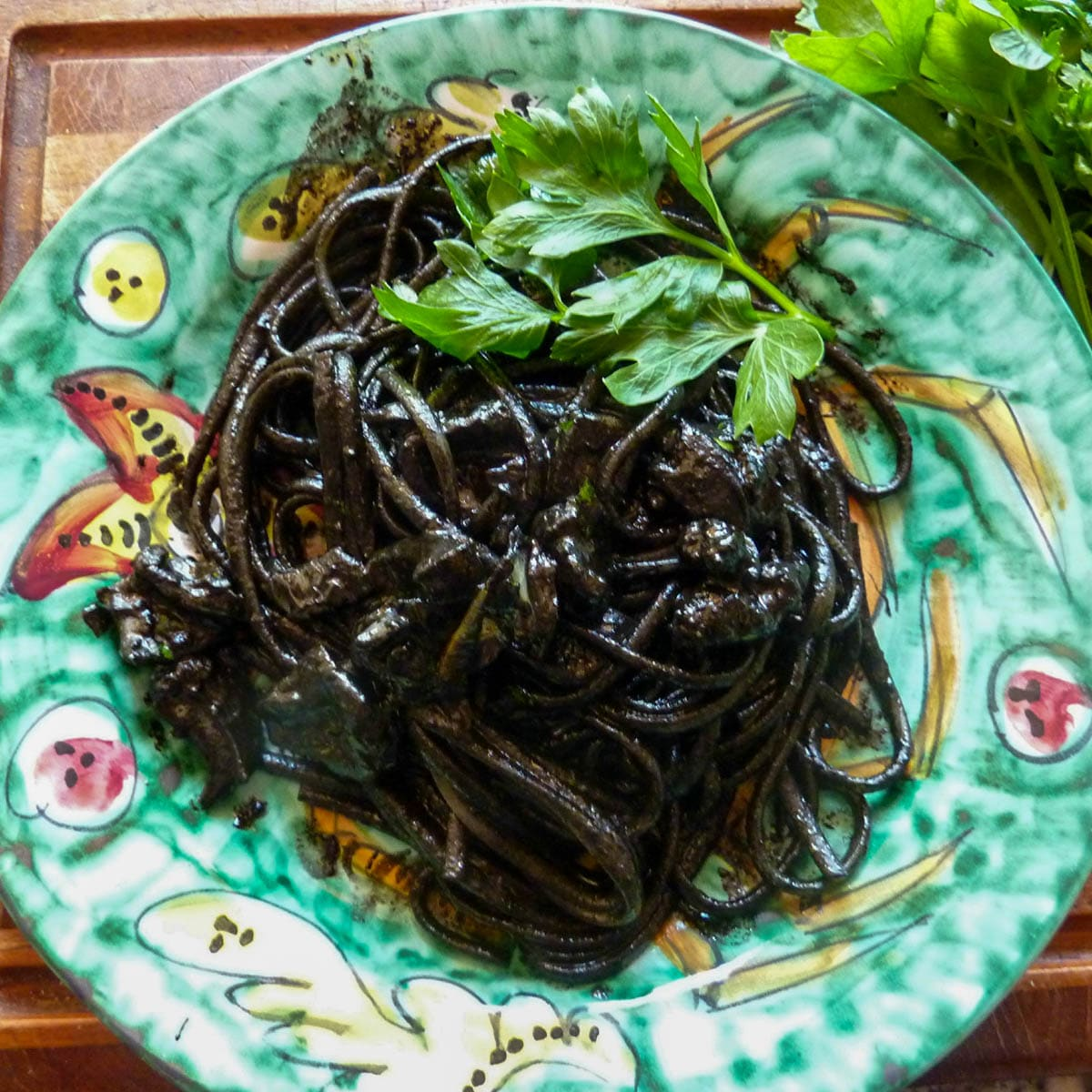 Pasta With Black Ink Cuttlefish Recipe