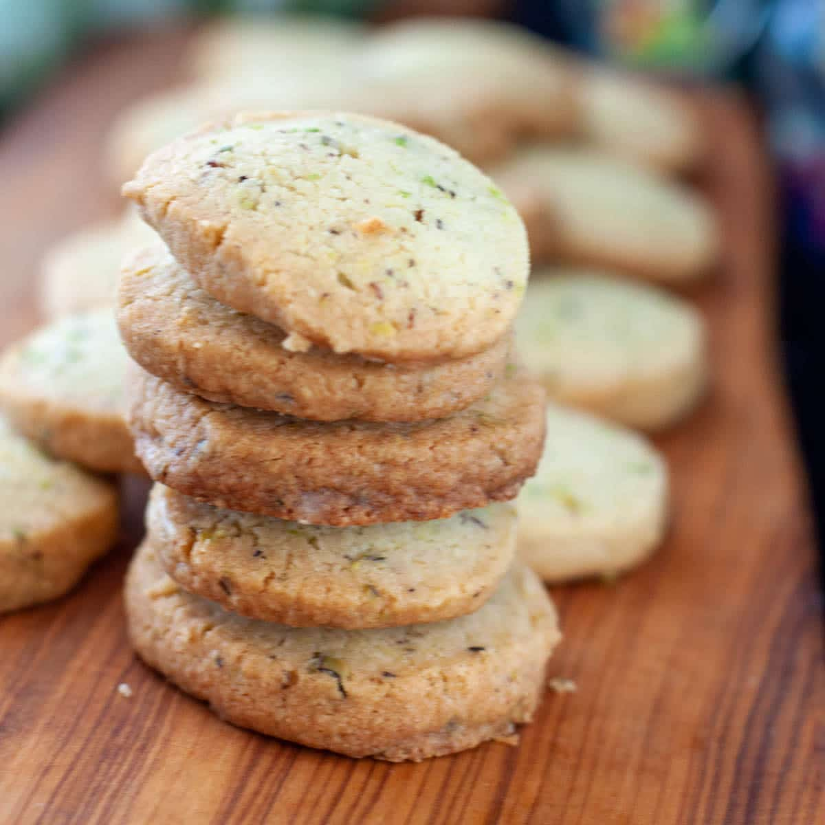 Butter Biscuits with Bronte Pistachios