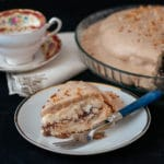 Pavloval with chestnut mousse