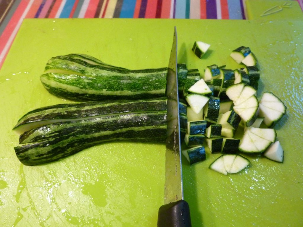 organic zucchini from Agnes