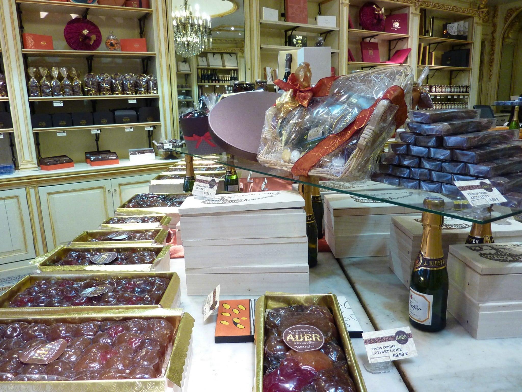 French fruit candies artisan