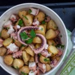 "Warm Octopus Salad ""Legs"" and Potato"