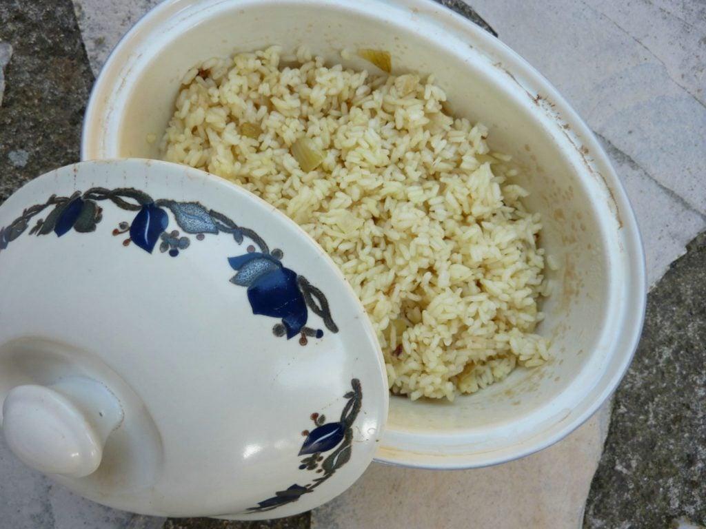Pilaf rice recipe