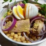 Chickpeas Tuna salad