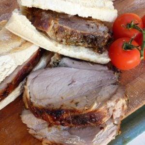 Homemade Porchetta Romana recipe