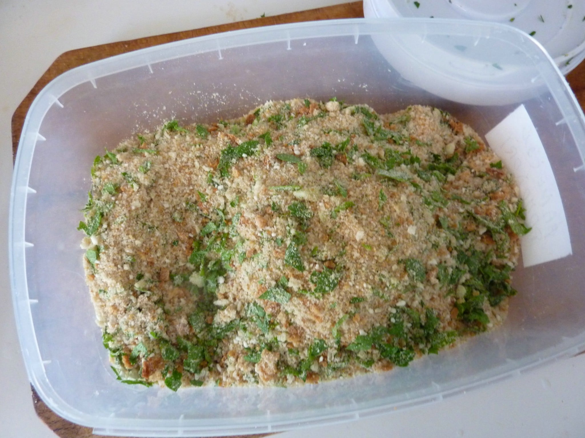 flavoured breadcrumbs Swordfish recipes braciolette