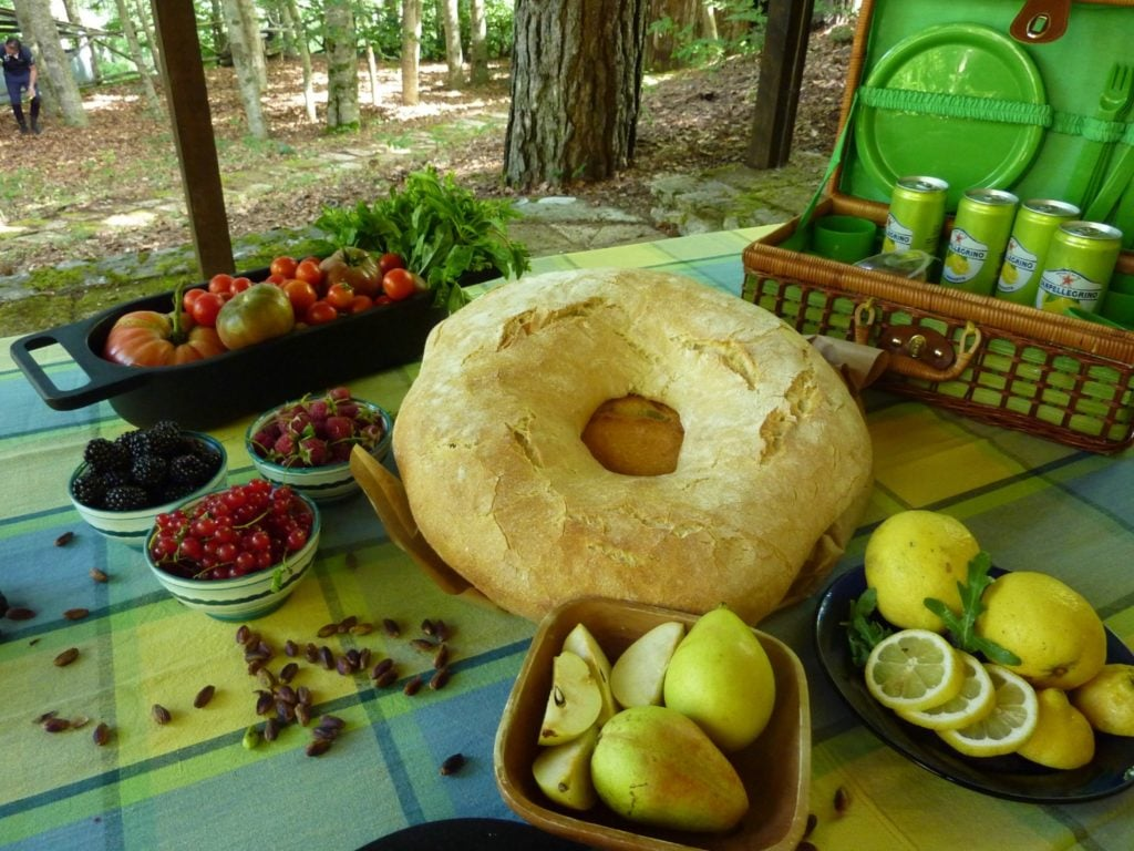 Mediterranean Picnic loaf