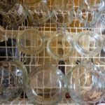sterilizing jars in the dishwasher
