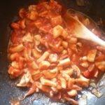 Squid Ink cuttlefish tomato