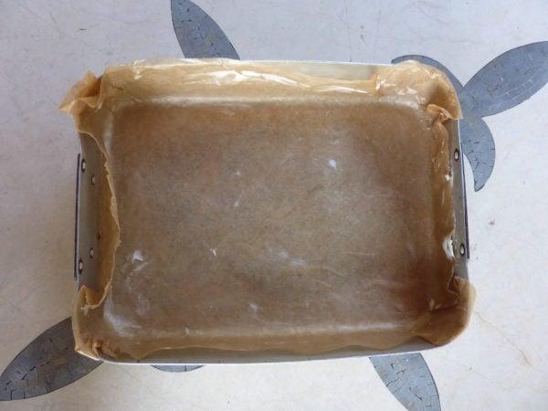 tin for american chocolate brownies
