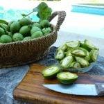 Nocino recipe Cut the walnuts into quarters
