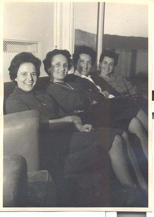 Aunt Clementina, Aunt Anna, Aunt lalla, Aunt Liliana