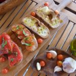 Bruschette Toppings using Virgin Olive Oil