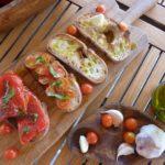 Bruschette Toppings using Virgin Olive Oil