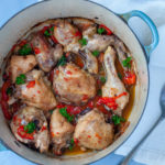 Italian Chicken with Peppers