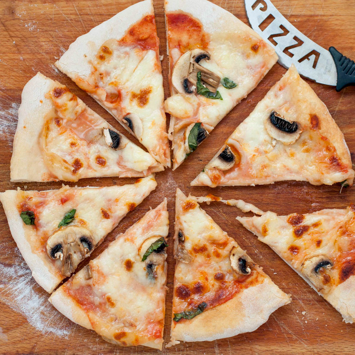 List of pizza toppings with vegetables