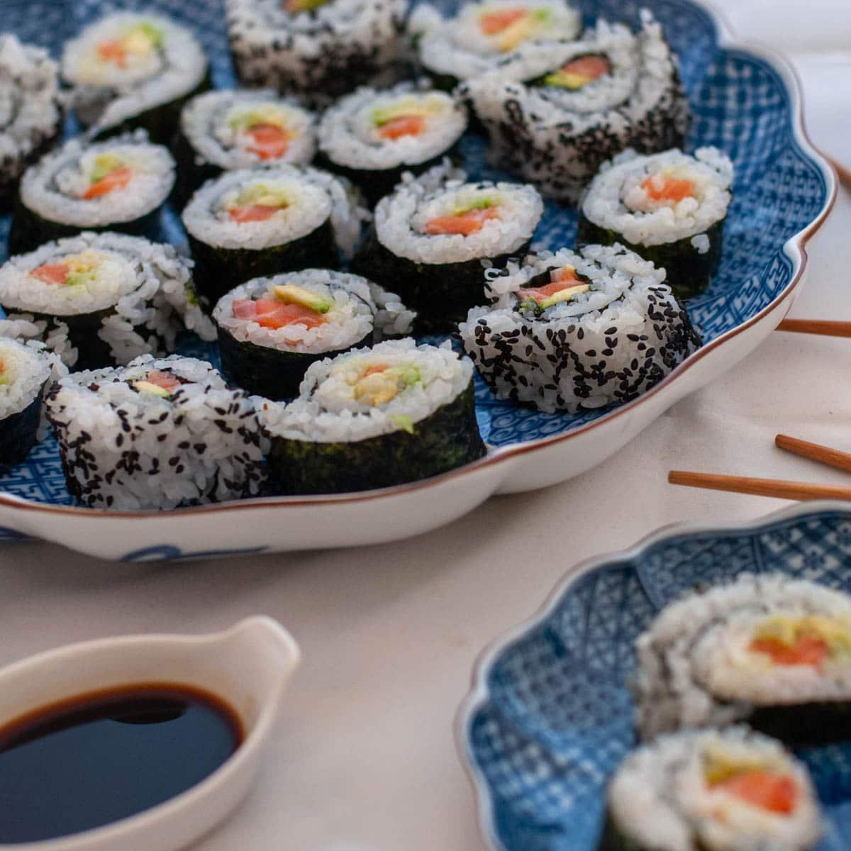 Maki Uramaki Sushi Recipe