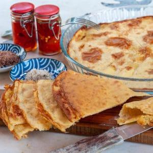 Socca or Farinata: Chickpea Flour Pancakes