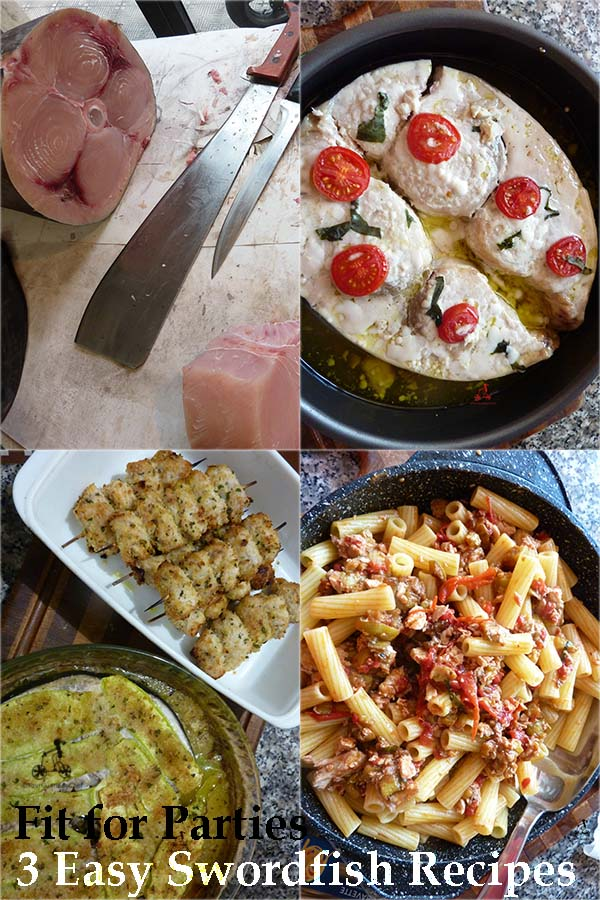 3 Swordfish Recipes