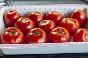 fresh summer tomatoes