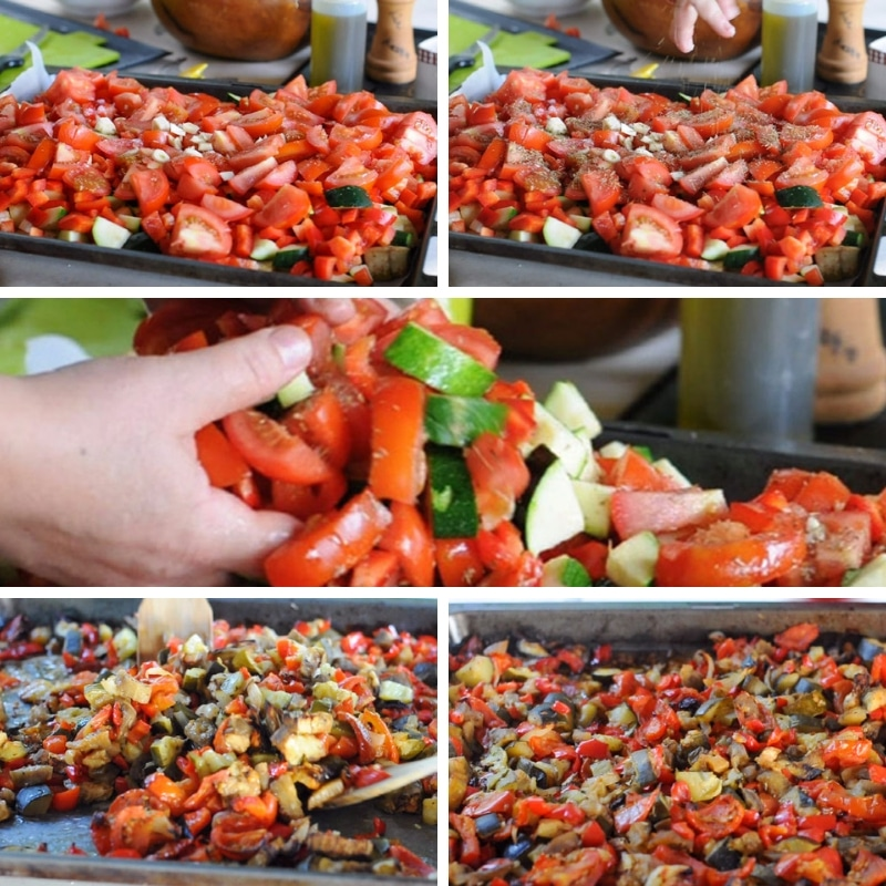step by step easy ratatouille