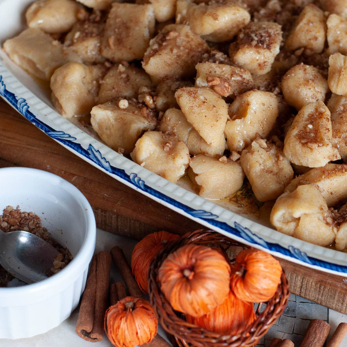 Pumpkin Gnocchi With Cinnamon