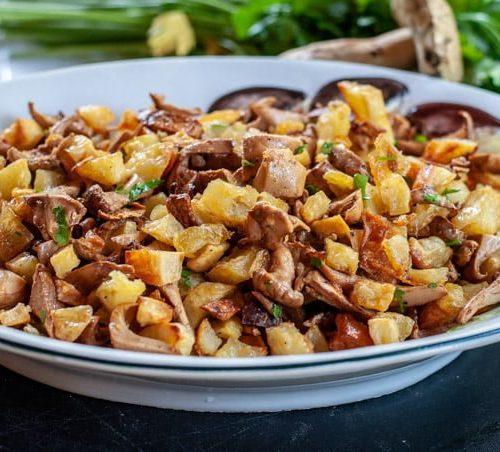 Easy Chantarelle Recipe With Potato