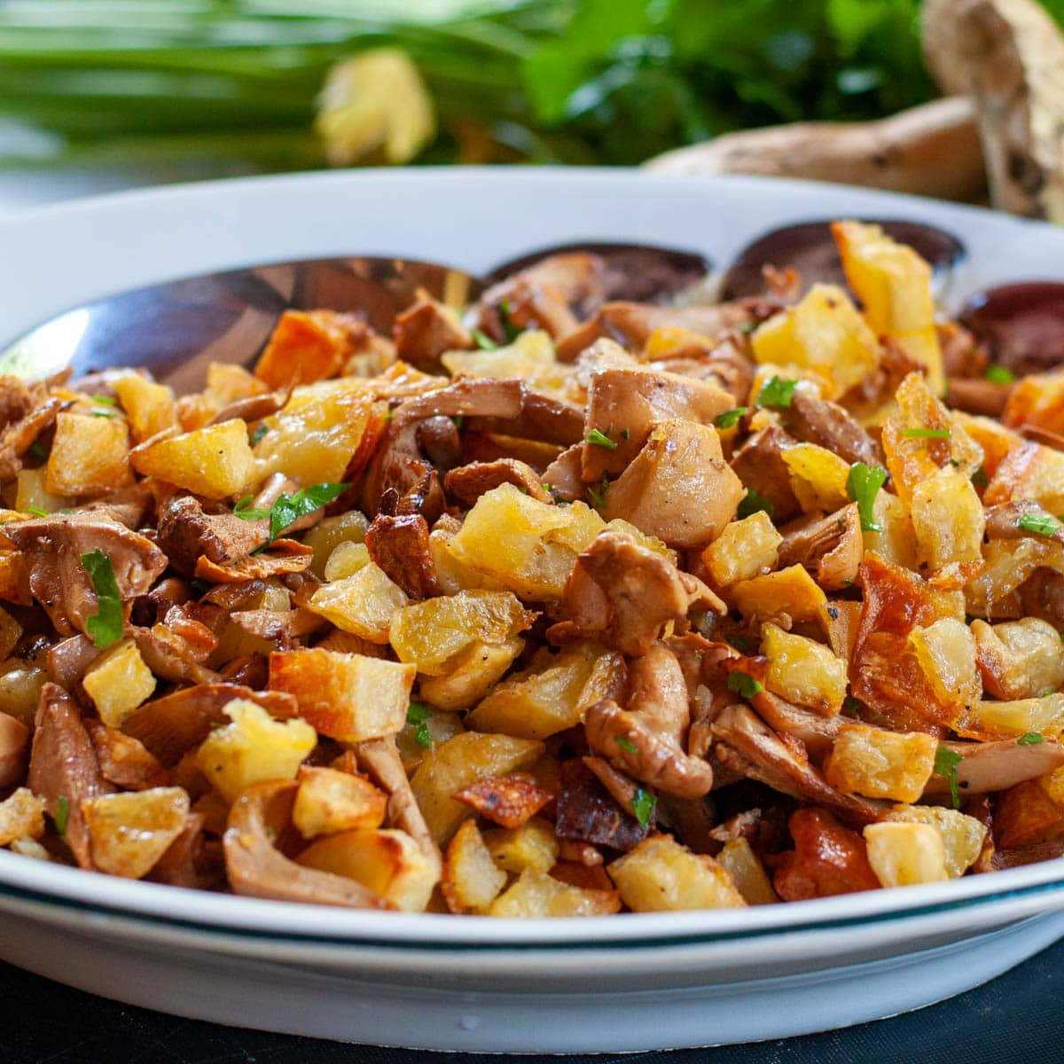 Easy Chantarelle Recipe With Potato