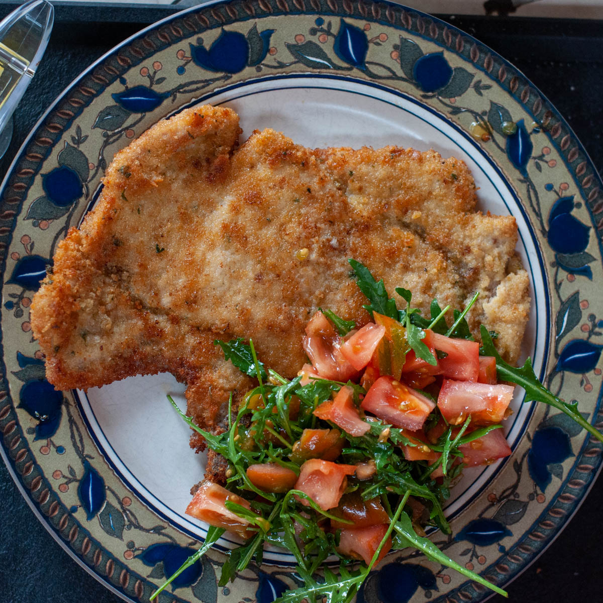 Veal Scallopini Milanese Style - a quick and nutritious ... |Veal Milanese