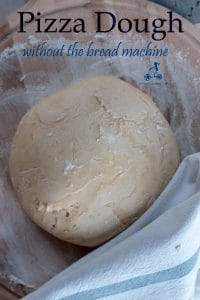 I usually make the pizza dough in the bread machine, but if you don't have one don't worry. Here is how to make it and it is very simple. #yourguardianchef #pizza #Italianfood #italianrecipe #pizzadough #pizzarecipes