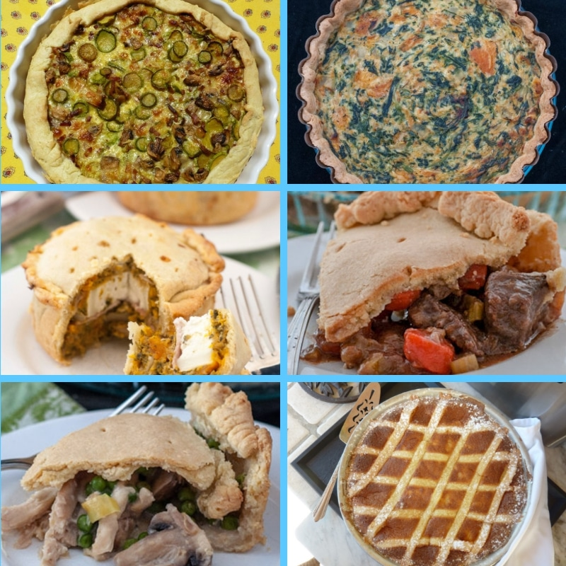 6 savoury pies recipes