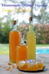 This homemade orange liquor is very similar to limoncello, it can be served cold at the end of a meal or used in recipes or cocktails that call for Curacao, Triple Sec or Cointreau. A perfect edible gift. #yourguardianchef #italianrecipes #liquorcabinet #homemadeliqueur