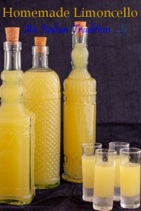 After a lavish Italian meal, a freezing cold Italian homemade Limoncello. citrusy, sweet and strong. You will digest in no time. Put it in a fancy bottle and make the perfect edible gift for father and/or mother day. #yourguardianchef #italianrecipes #liquorcabinet #homemadeliqueur