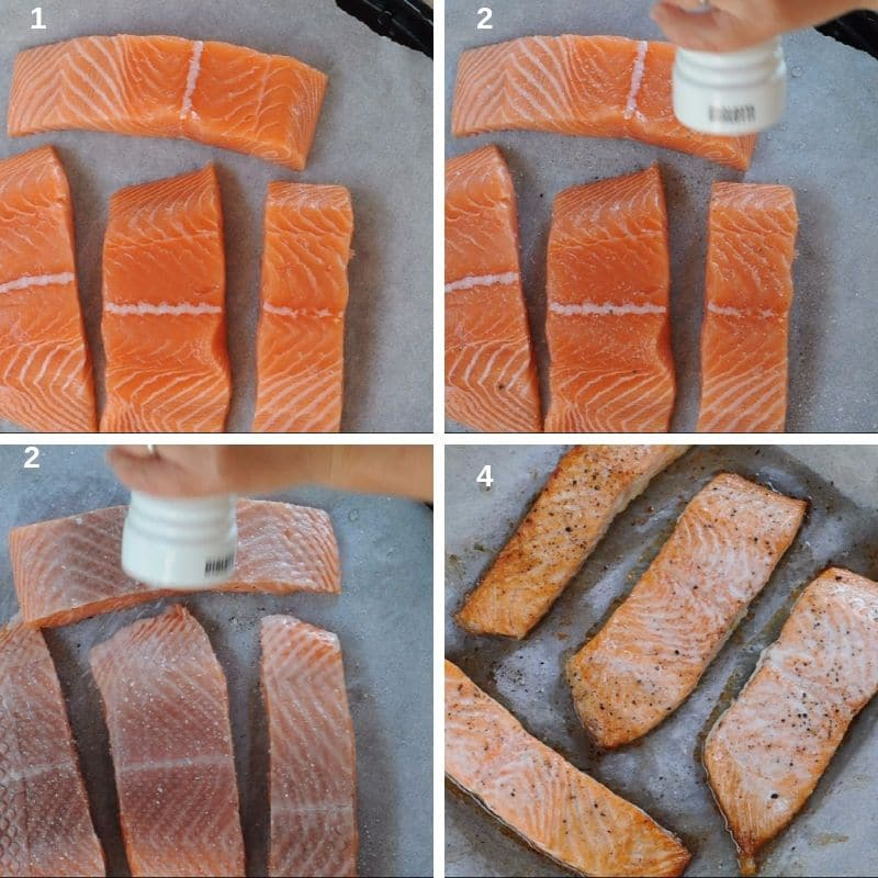 How to bake salmon fillet in oven