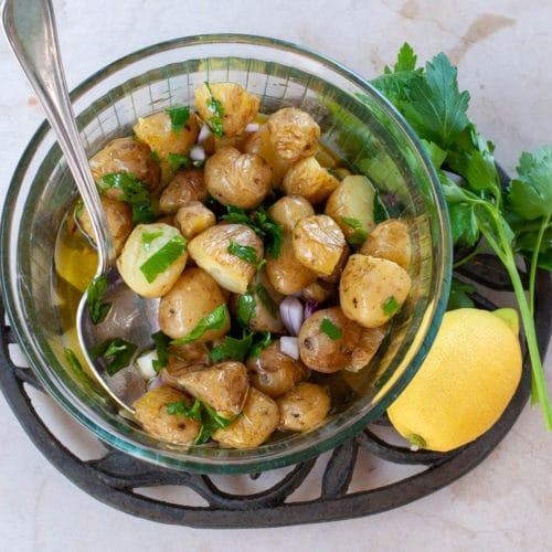 Cold Italian Potato Salad Recipe