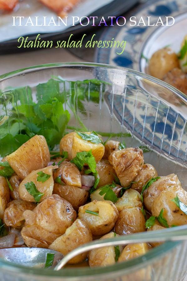 Italian potato salad PIN