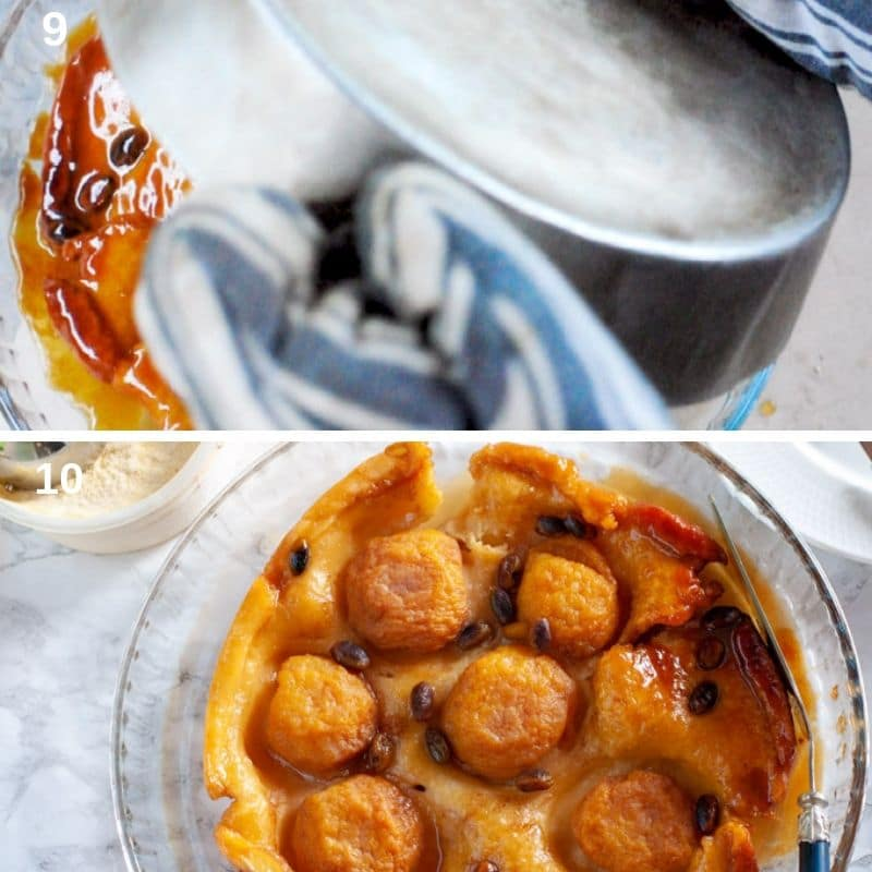 Turning the Tarte Tatin