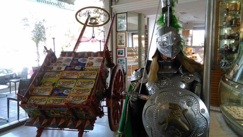 Caffe-Parisi Sicilian Carretto and armer