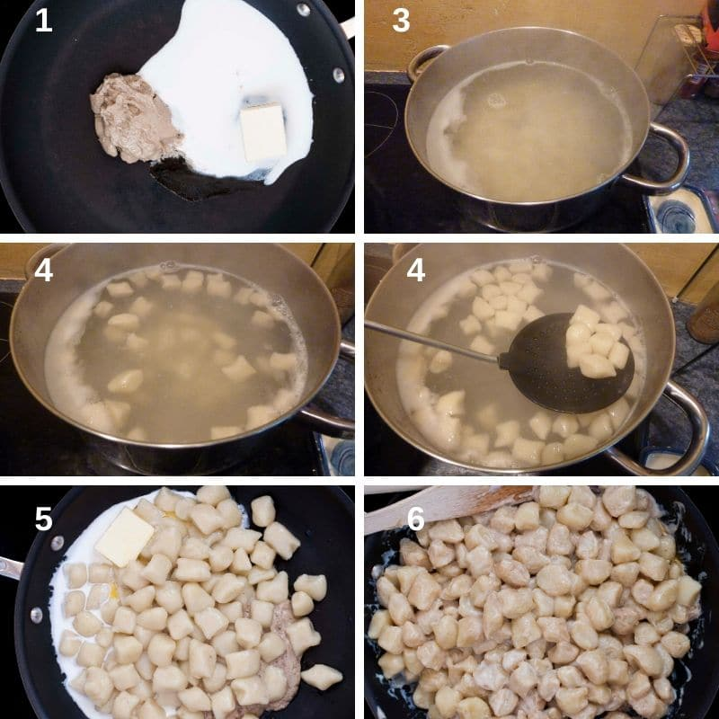 How to make gnocchi with truffle