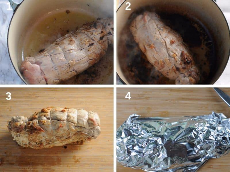 Cooking the tenderloin