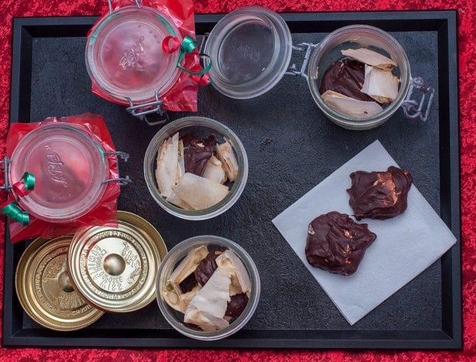 Torrone Italian Nougat chocolate gift-1
