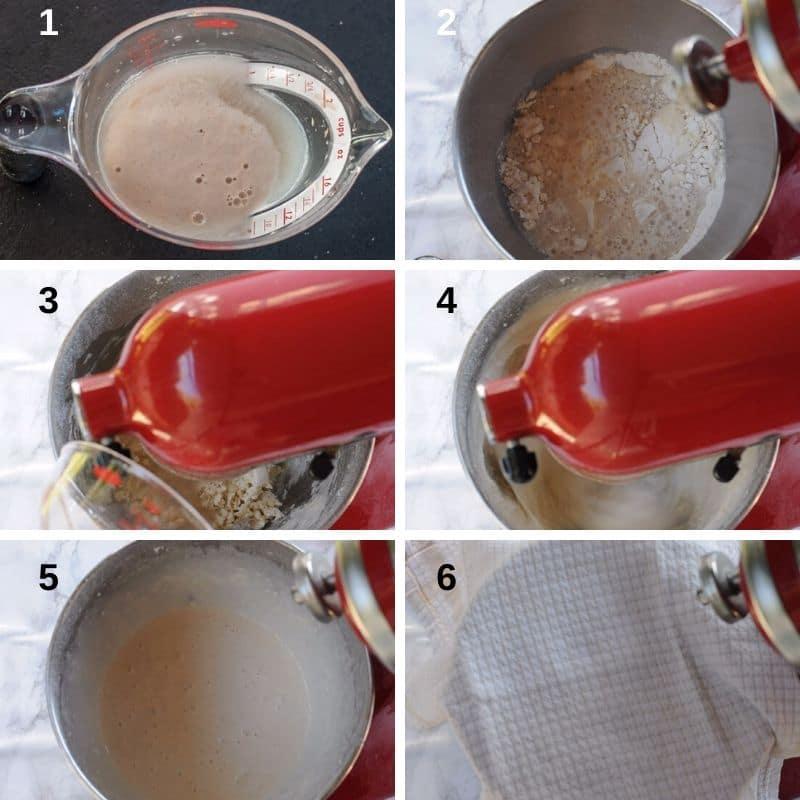 Making the Crispelle dough