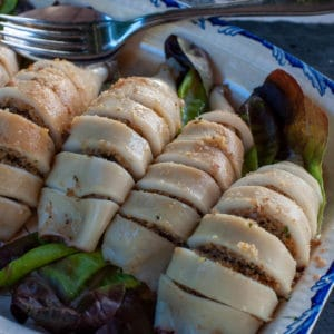 Stuffed calamari recipe