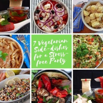 7 vegetarian buffet recipes